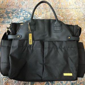 Skip Hop Black Diaper Bag